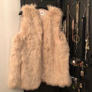 Light Pink Fur Vest